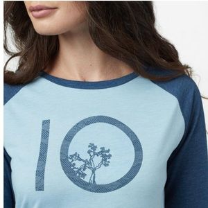 NWT Ten Tree Blue Fog Long Sleeve